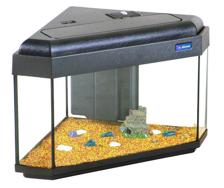 Acquario advance 55 angolare 55x55 acquario in vetro for Acquario angolare