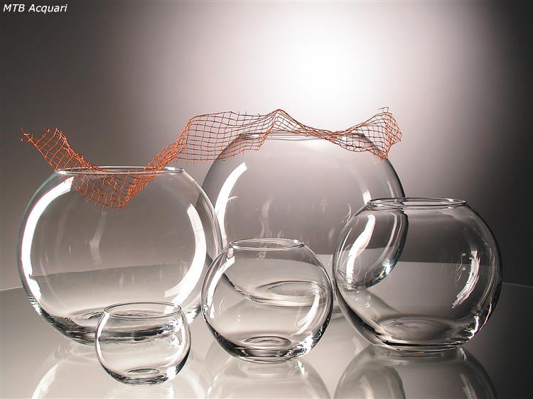 Boccia in vetro bohemia 37 boccia in vetro per pesci d for Boccia pesci