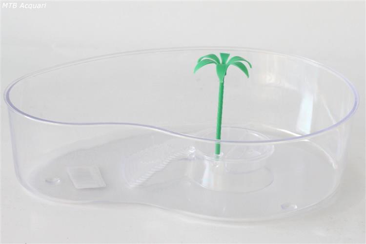 Bac à Tortue en Plastique Virgola, Bac à Tortue en plastique avec palmier Id -> Bac A Tortue